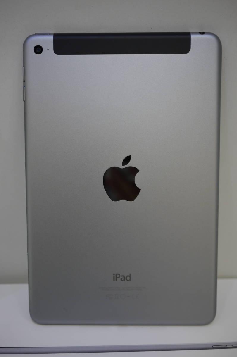 C 美品 iPad mini4 Wi-Fi+Cellular 128GB シルバー SIMフリー 判定〇 A1550 初期動作不良返品可能です_画像7