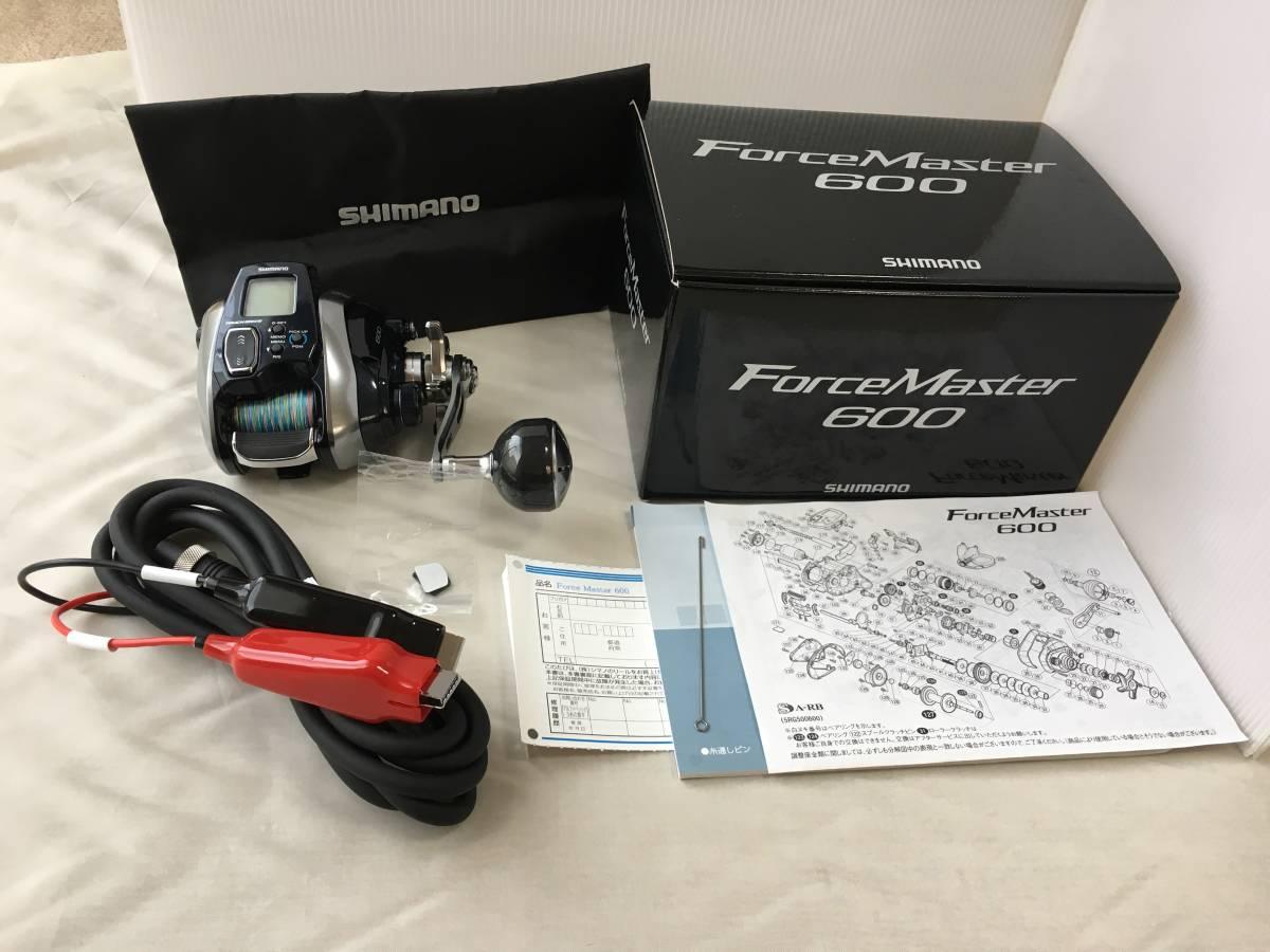 シマノ 18 フォースマスター 600 実釣未使用品