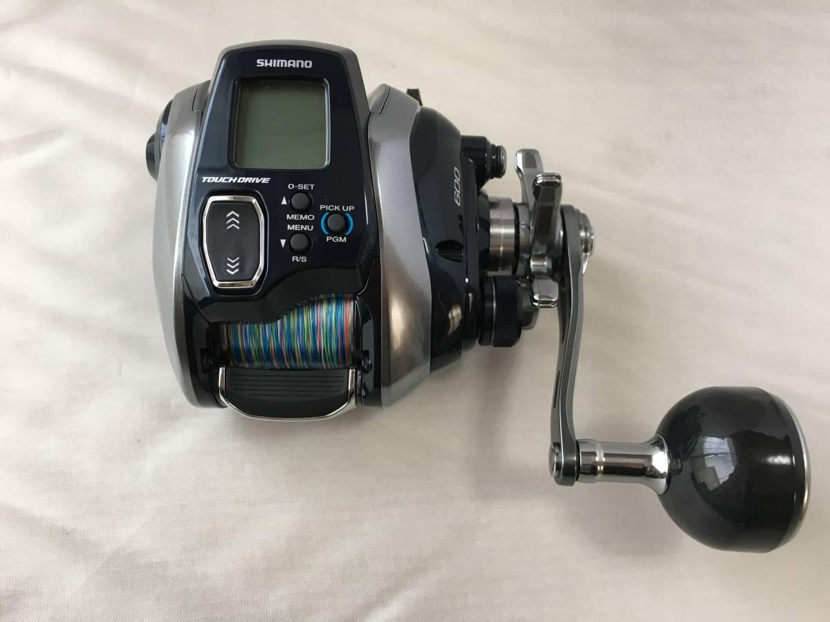 シマノ 18 フォースマスター 600 実釣未使用品_画像6