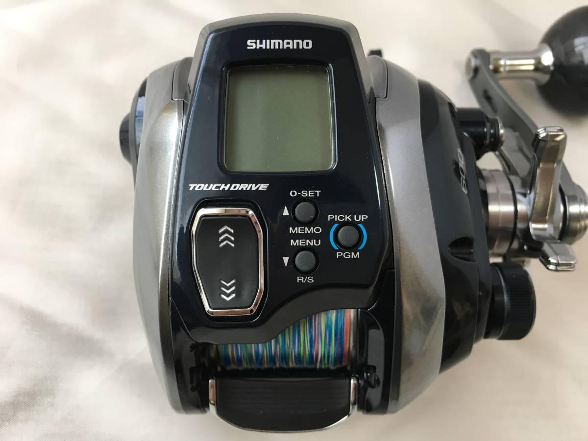 シマノ 18 フォースマスター 600 実釣未使用品_画像3
