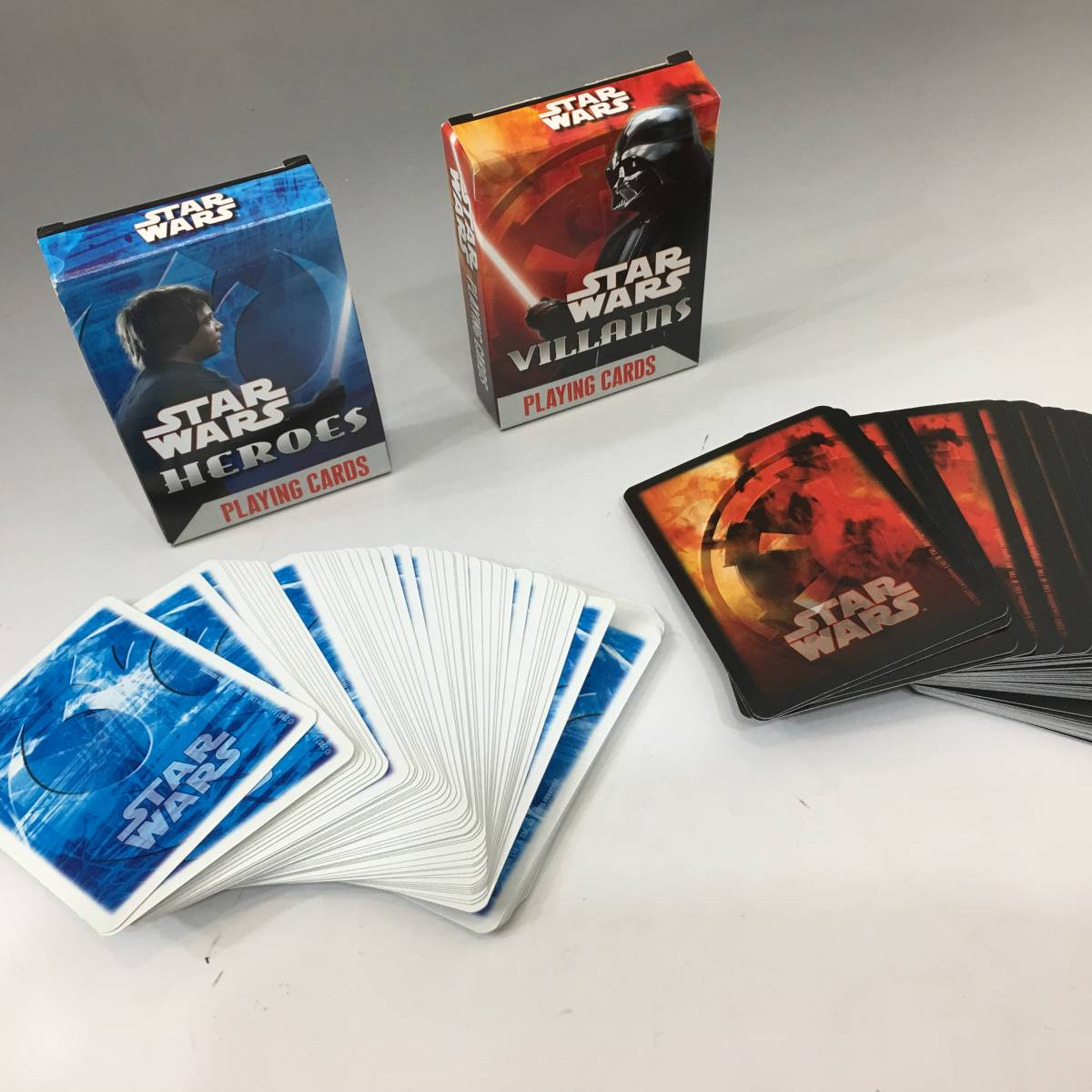 Tb10/31/09 【未使用品】 スターウォーズ プレイングカード HEROES&VILLAINS 2デッキセット トランプ カードゲーム_画像8