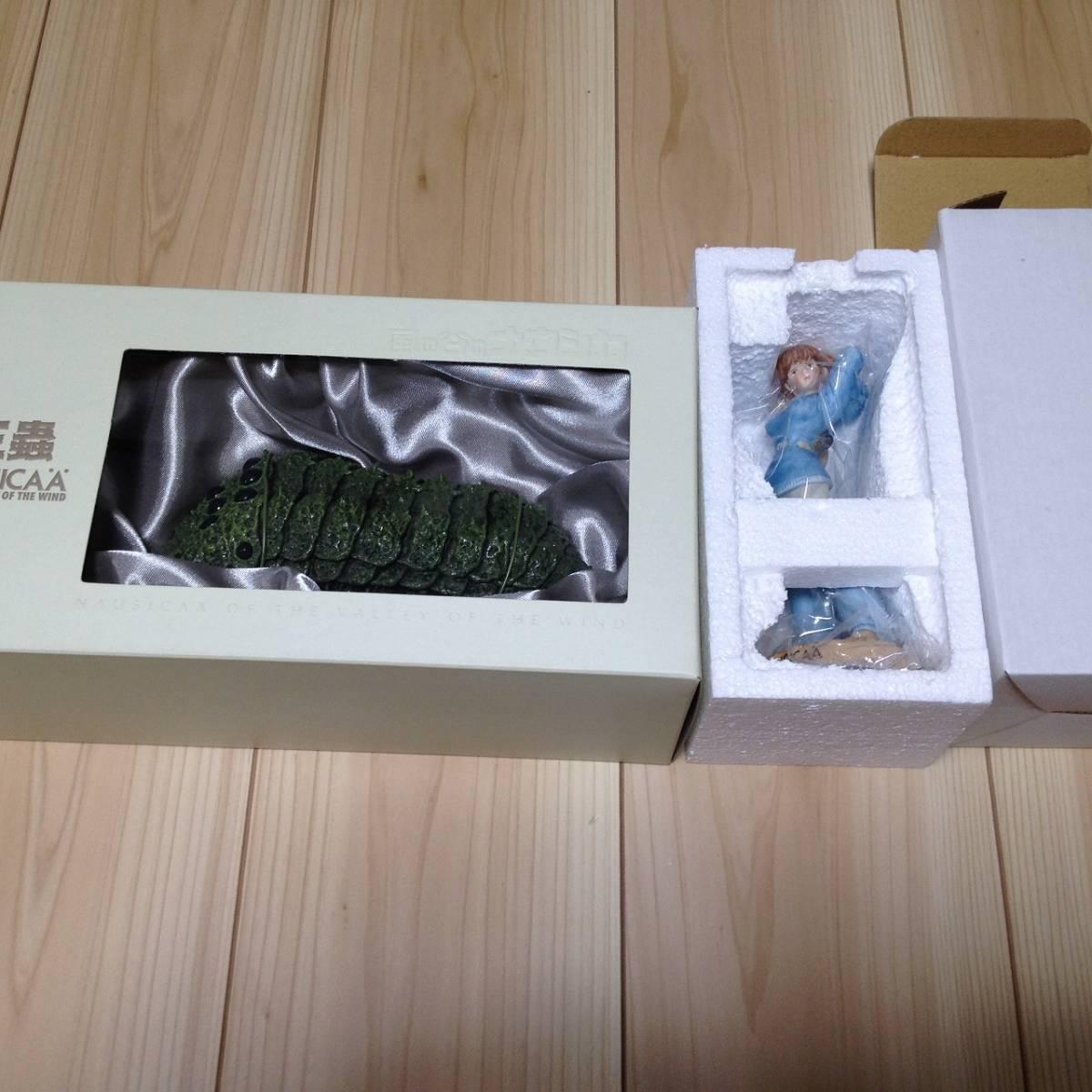 風の谷のナウシカ 王蟲(オーム)リアル・モデル(FRP製) 陶器製 ナウシカ・フィギュア(_画像1