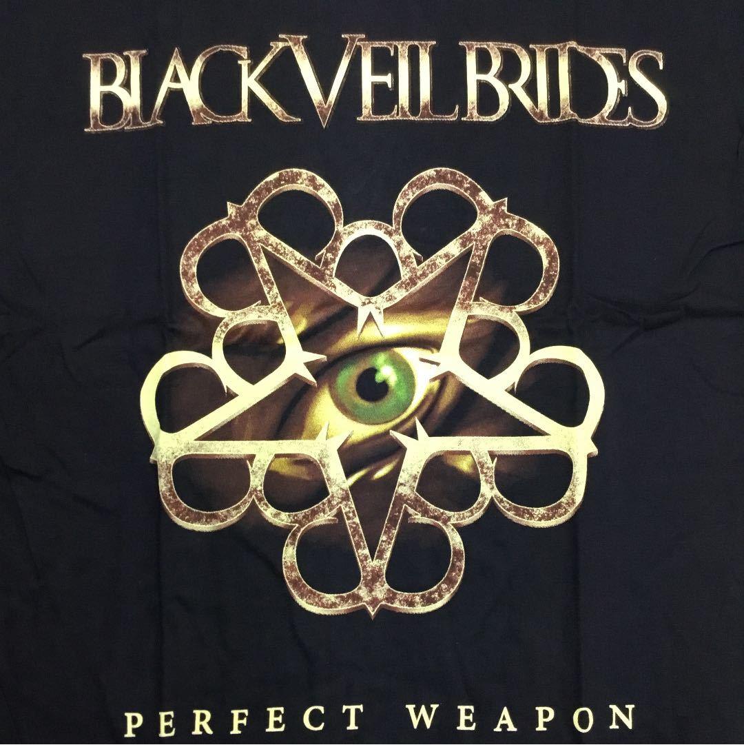 両面プリントバンドデザイン半袖Tシャツ BLACK VEIL BRIDES Lサイズ ブラックベイルブライズ SR3A1