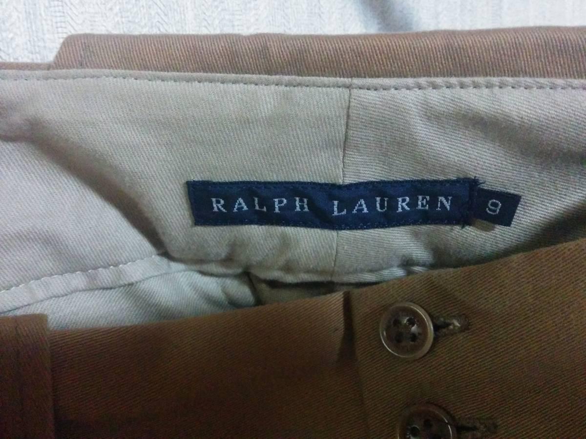 RALPH LAUREN ラルフローレン タイトスカート キャメル 中古 定形外OK_画像3