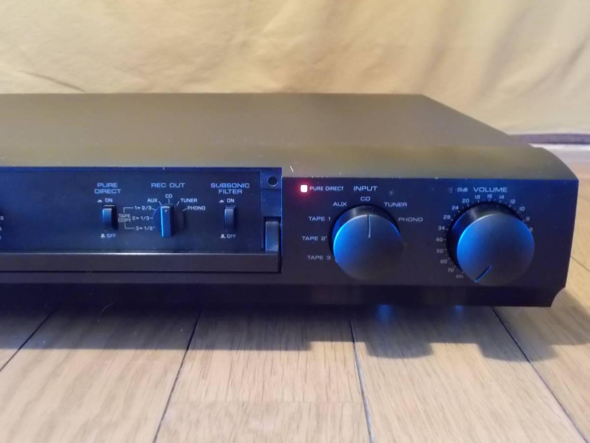 ◆◆◆YAMAHA CX-1 コントロールアンプ ジャンク_画像3