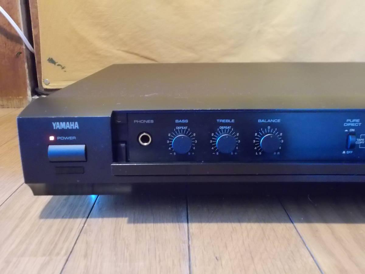 ◆◆◆YAMAHA CX-1 コントロールアンプ ジャンク_画像2