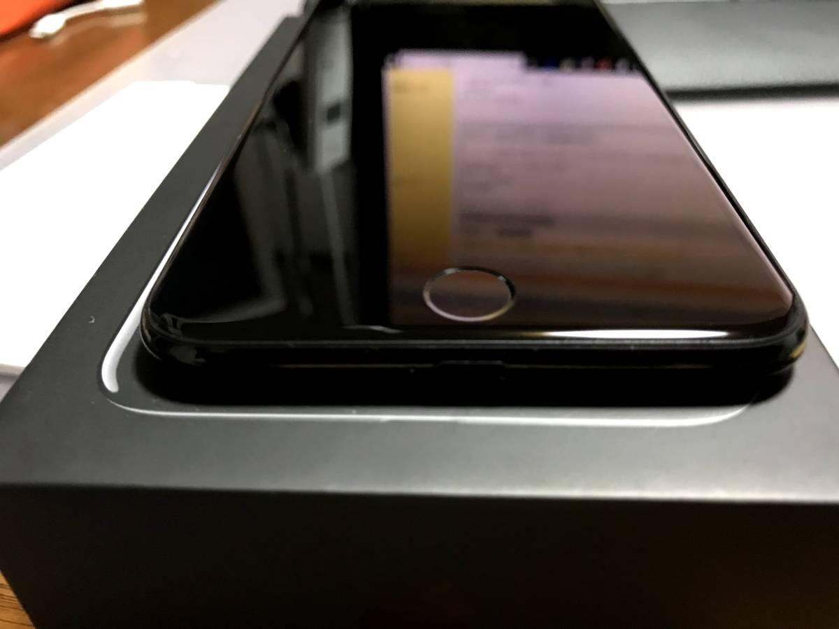 【送料無料・美品】Softbank iPhone7Plusプラス128GB ジェットブラック 黒 _画像2