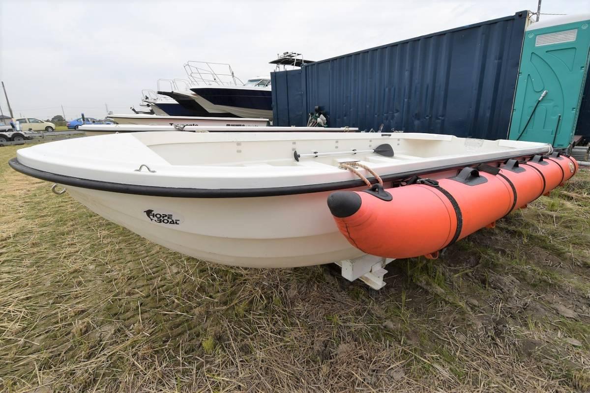 ☆★船屋.com 湖畔や川での使用にオススメ☆★ホープボート PZ-410LRC_画像5