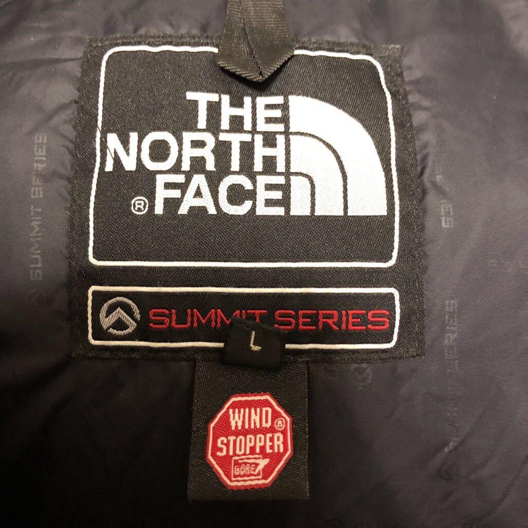 ノースフェイス ダウンジャケット メンズLサイズ 正規品 ネイビー パープル 本物 サミットシリーズ バルトロ バルトロライト supreme_画像4