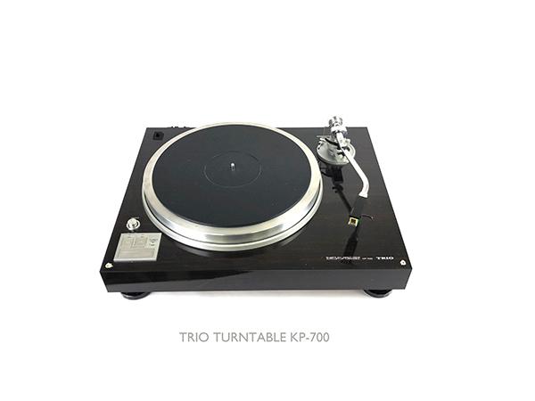 動作品 TRIO トリオ ターンテーブル KP-700 レコード プレーヤー ダイレクトドライブ LP オートリフトアップ オーディオ 音楽 音響 札幌 ξ_画像1