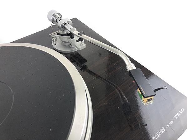 動作品 TRIO トリオ ターンテーブル KP-700 レコード プレーヤー ダイレクトドライブ LP オートリフトアップ オーディオ 音楽 音響 札幌 ξ_画像5