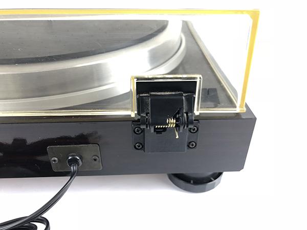 動作品 TRIO トリオ ターンテーブル KP-700 レコード プレーヤー ダイレクトドライブ LP オートリフトアップ オーディオ 音楽 音響 札幌 ξ_画像8