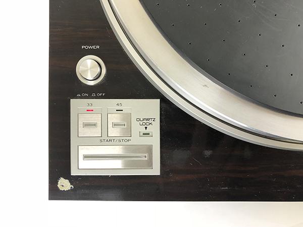 動作品 TRIO トリオ ターンテーブル KP-700 レコード プレーヤー ダイレクトドライブ LP オートリフトアップ オーディオ 音楽 音響 札幌 ξ_画像6