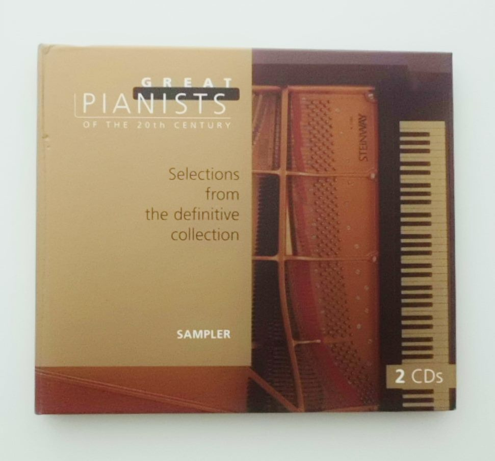 """2 CDs """"Great Pianists of the 20th Centuries"""" Philips Classics 462 699-2 サンプラー 20世紀の偉大なるピアニスト 輸入盤 UK_画像1"""