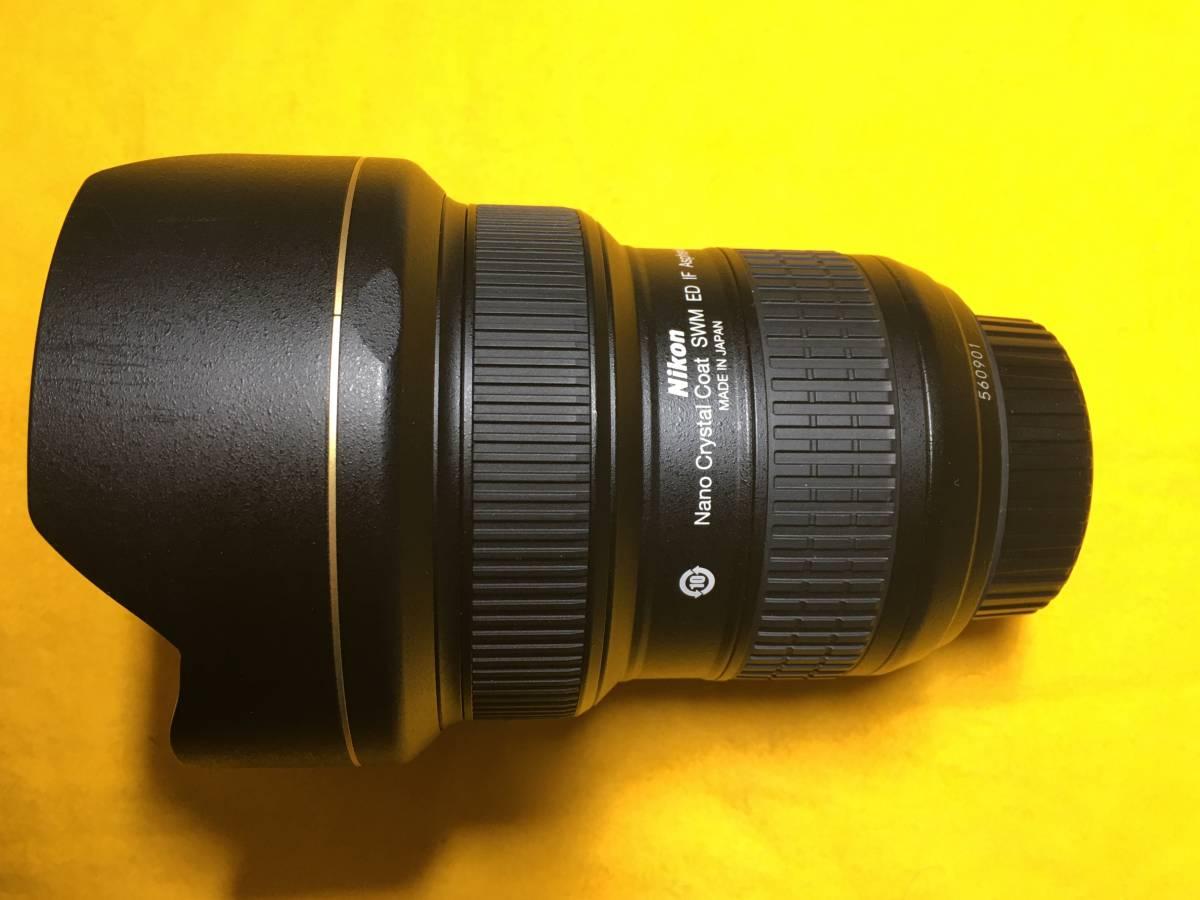 尼康尼康AF  -  S尼克爾14-24毫米F 2.8 G ED超廣角變焦鏡頭優雅 編號:m293601136