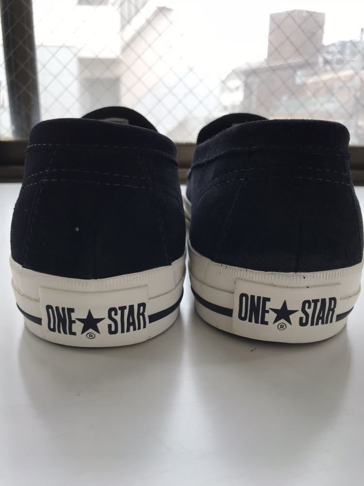 60cd27c4b94f 27.0cm CONVERSE Addict Converse Addict new goods US8.5 ONE STAR LOAFER ...