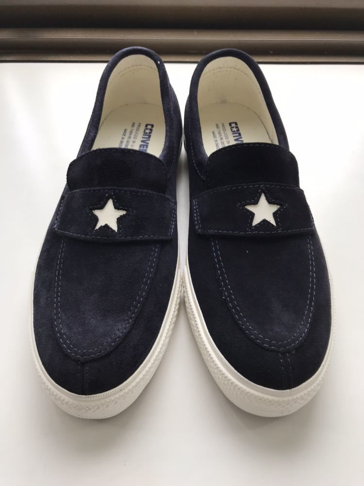 767724a3116c 27.0cm CONVERSE Addict Converse Addict new goods US8.5 ONE STAR LOAFER one  Star Loafer