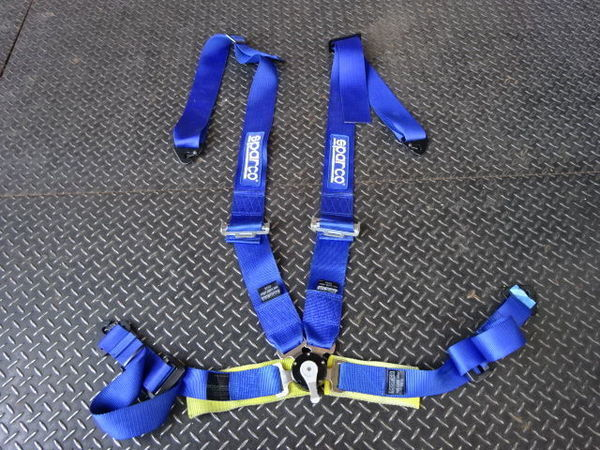 SPARCO Sparco racing Harness 5 point type ( present condition 4