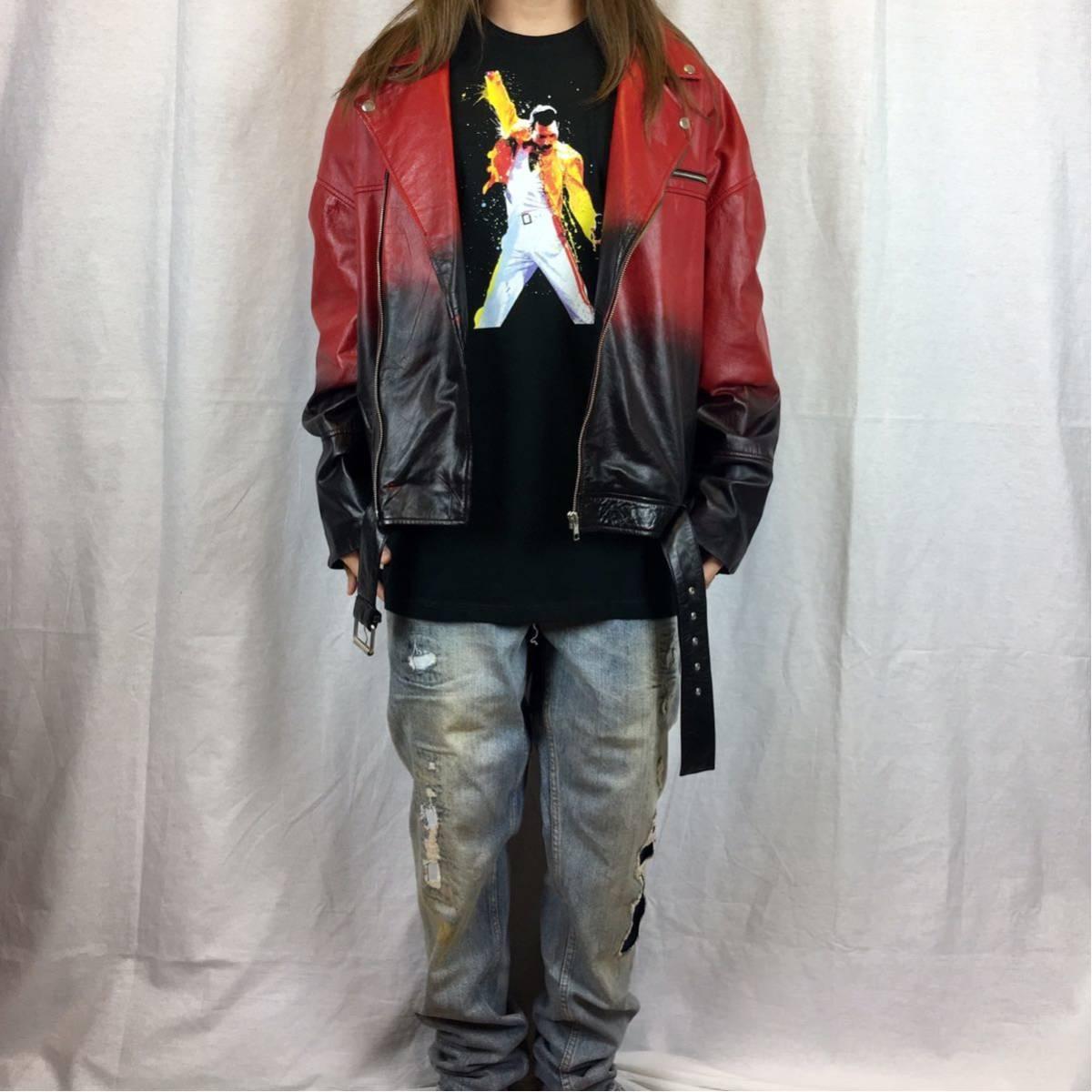 新品 大きい オーバー サイズ XXL 3XL 4XL 5XL 対応 クイーン フレディマーキュリー ボヘミアンラプソディ ビッグ 黒 Tシャツ ロンT 可能_画像5