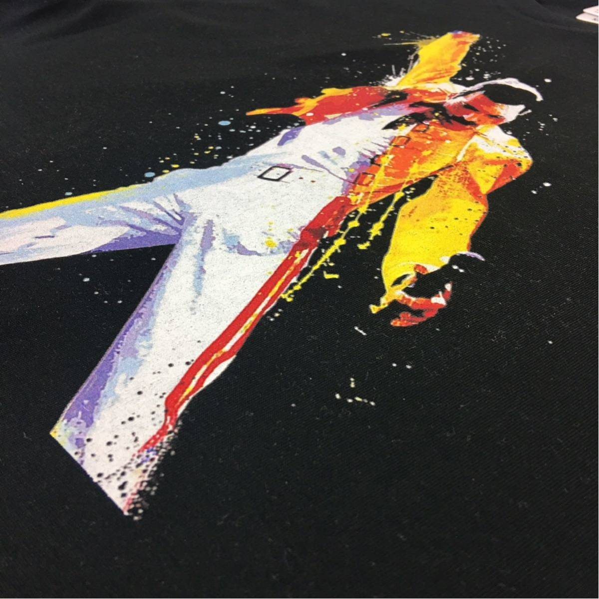 新品 大きい オーバー サイズ XXL 3XL 4XL 5XL 対応 クイーン フレディマーキュリー ボヘミアンラプソディ ビッグ 黒 Tシャツ ロンT 可能_画像8