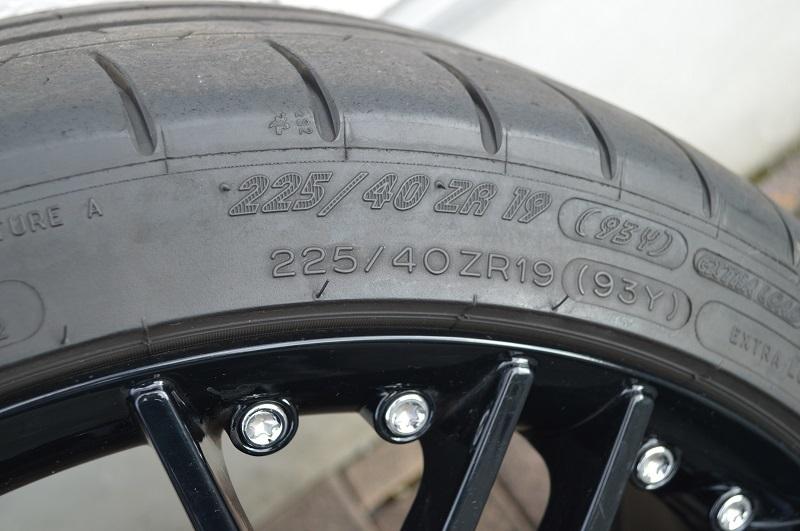 W205梅賽德斯奔馳C43用於AMG卡爾森19英寸225/40  -  19 8.5 J 255/35  -  19 9.5 J 編號:342642795