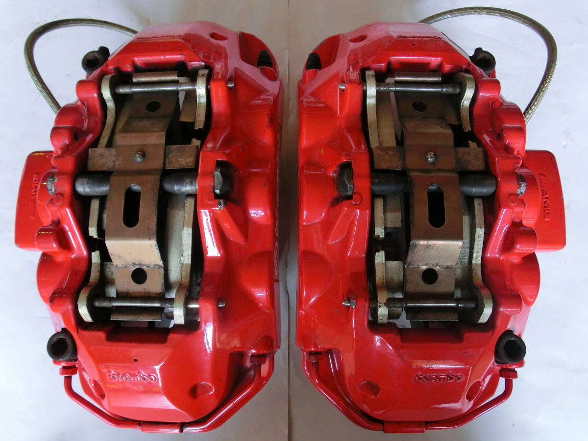 brembo 6POT ブレンボ 6ポットキャリパーのみ(パット+ショートパーツ付属) R,L 各1ケ _画像3