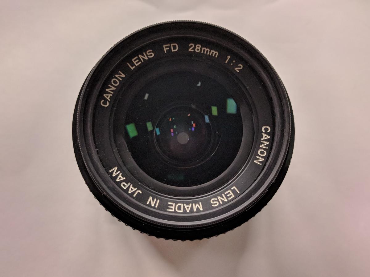 Canon A-1 FDレンズ4本付 28/2、50/1.4、135/2.5、28-70/3.5-4.5 完動品 テスト撮影済み キャノン フィルムカメラ FDマウント 中古_画像7