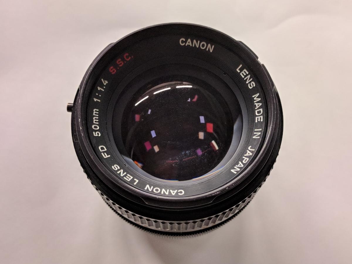 Canon A-1 FDレンズ4本付 28/2、50/1.4、135/2.5、28-70/3.5-4.5 完動品 テスト撮影済み キャノン フィルムカメラ FDマウント 中古_画像8