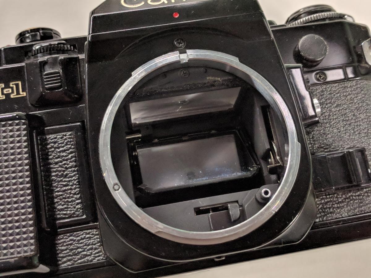 Canon A-1 FDレンズ4本付 28/2、50/1.4、135/2.5、28-70/3.5-4.5 完動品 テスト撮影済み キャノン フィルムカメラ FDマウント 中古_画像4