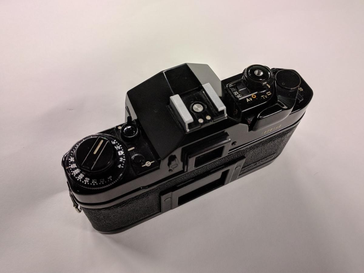 Canon A-1 FDレンズ4本付 28/2、50/1.4、135/2.5、28-70/3.5-4.5 完動品 テスト撮影済み キャノン フィルムカメラ FDマウント 中古_画像5