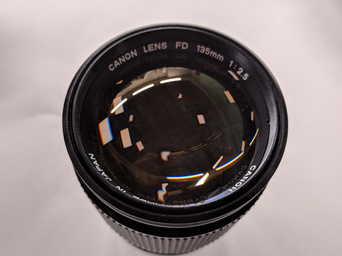 Canon A-1 FDレンズ4本付 28/2、50/1.4、135/2.5、28-70/3.5-4.5 完動品 テスト撮影済み キャノン フィルムカメラ FDマウント 中古_画像9