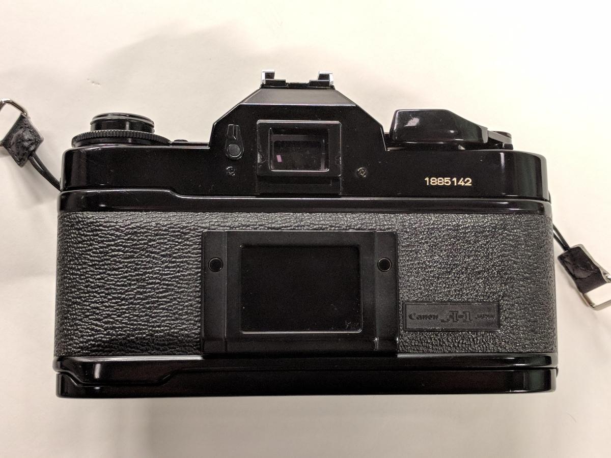 Canon A-1 FDレンズ4本付 28/2、50/1.4、135/2.5、28-70/3.5-4.5 完動品 テスト撮影済み キャノン フィルムカメラ FDマウント 中古_画像3