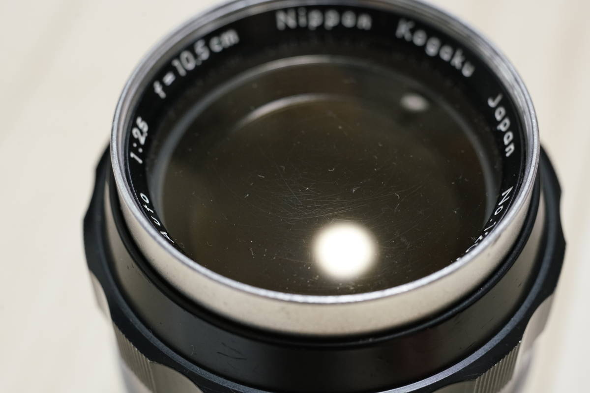 Nikon F (黒) + Nikkor-P 105mm F2.5 (チックマーク付き) 28mmおまけ_画像3