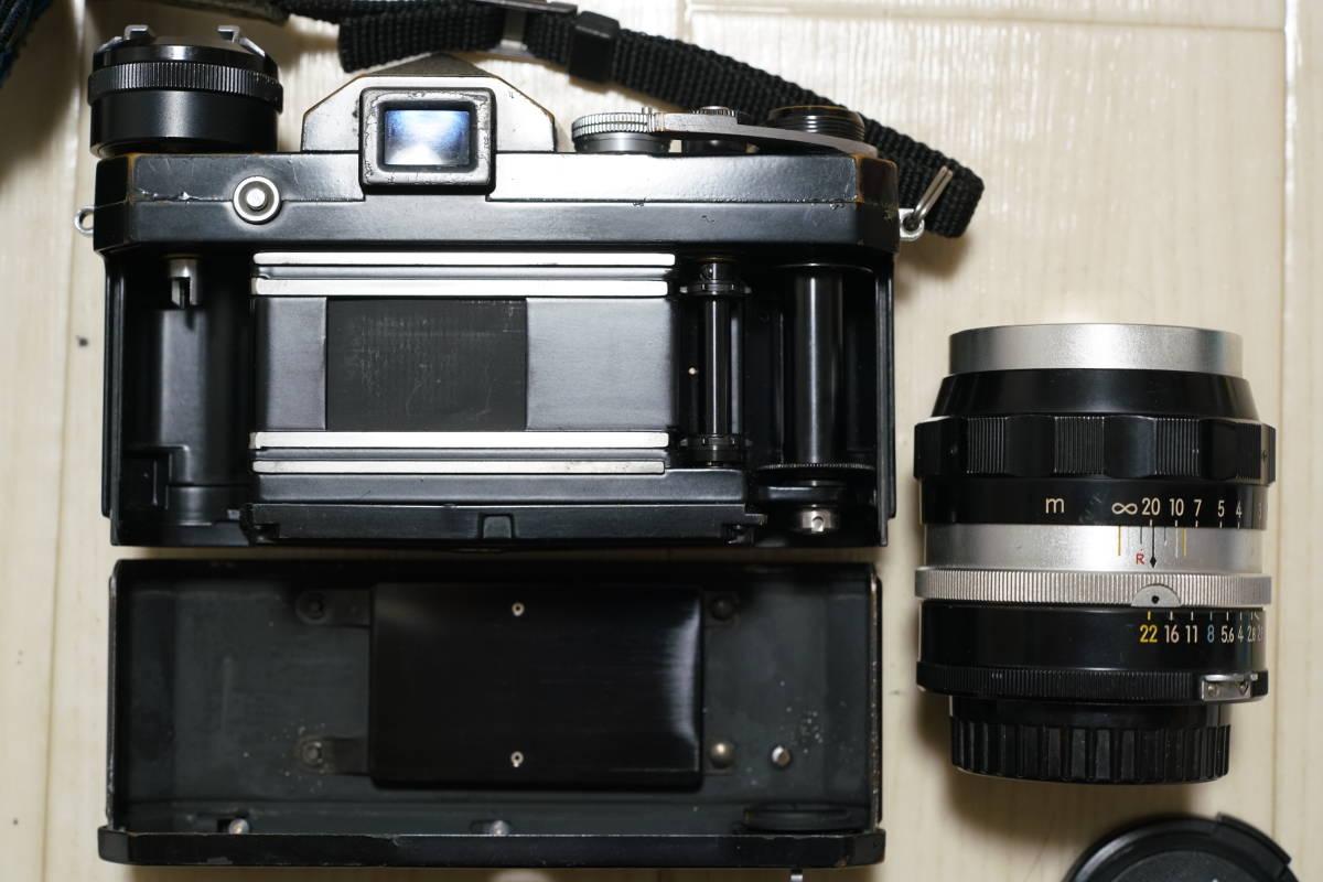 Nikon F (黒) + Nikkor-P 105mm F2.5 (チックマーク付き) 28mmおまけ_画像2