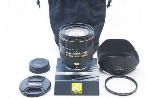 極上美品◎ Nikon ニコン AF-S NIKKOR 16-80mm F2.8-4 E ED VR