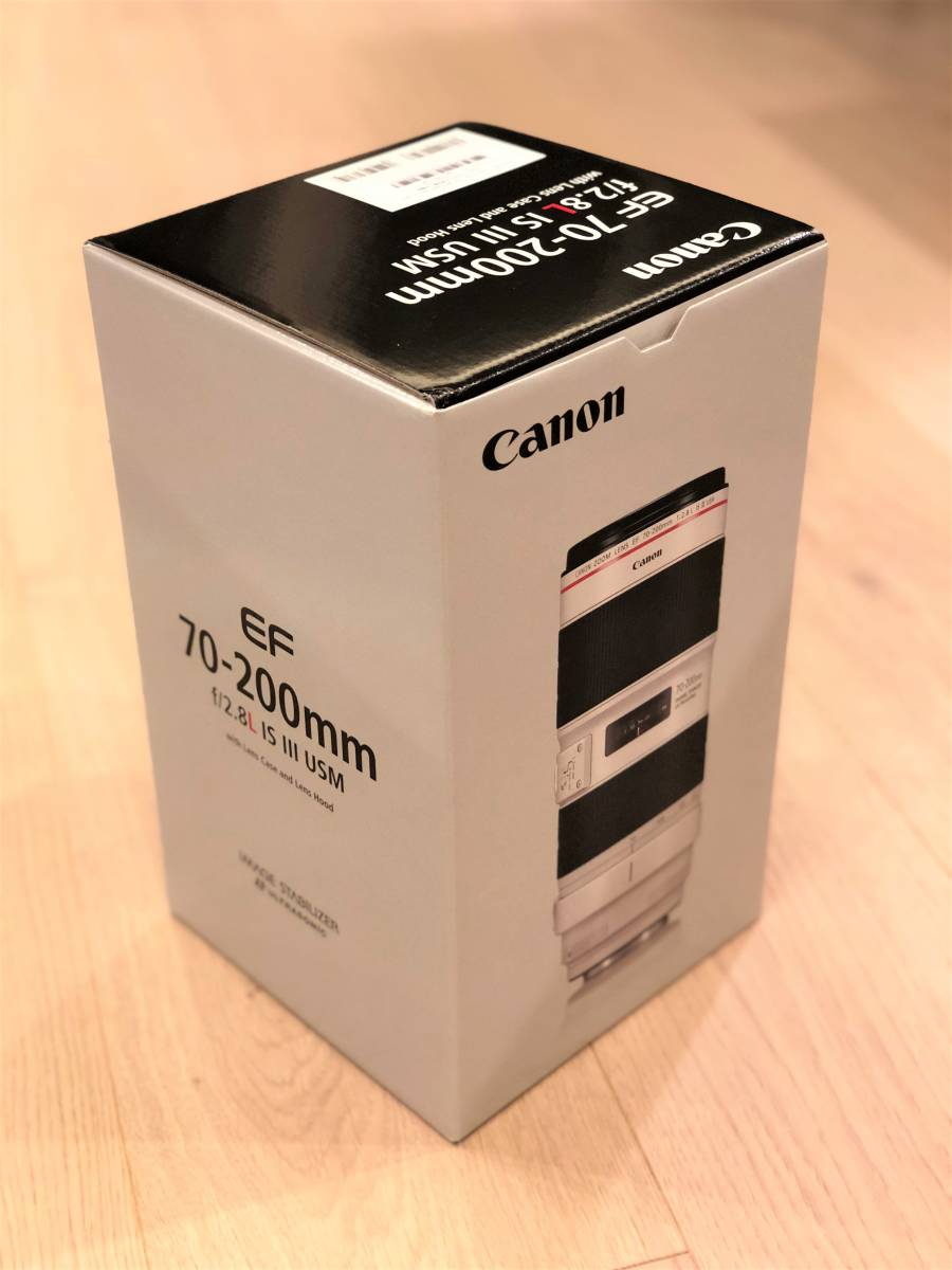 ★未使用★Canon キャノン EF70-200mm F2.8L IS III USM