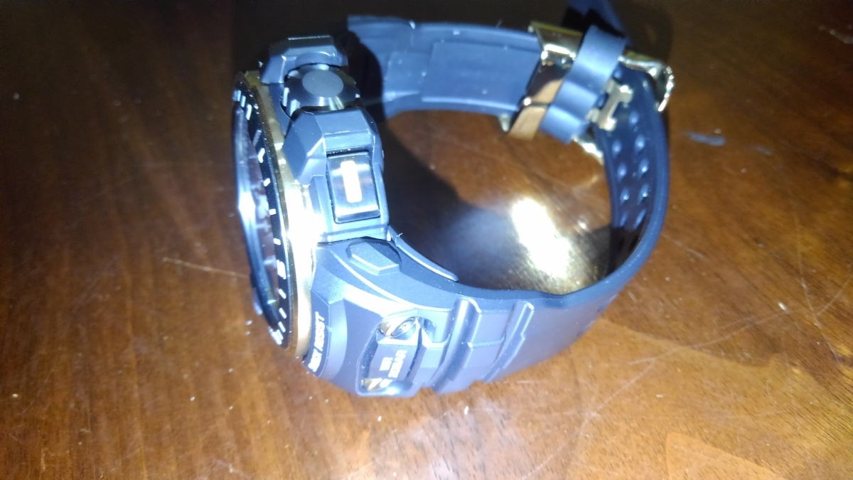 カシオ CASIO 腕時計 G-SHOCK ジーショック GULFMASTER 電波ソーラー GWN-Q1000A-1AJF メンズ _画像2