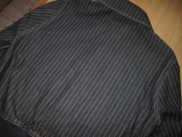 美品 クッシュマン 10oz ウォバッシュ デニム A-1 30's サイズS ジャケット ストライプ CUSHMAN_画像2