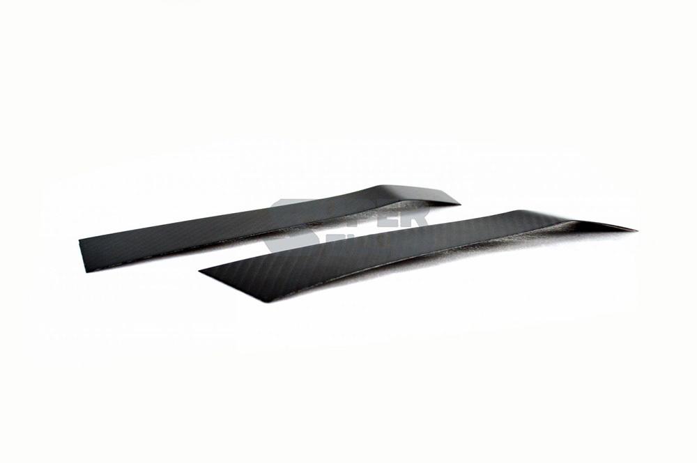 2015-2018スバル WRX / STI VAB VAG カーボン サイド マーカー フェンダー パネル トリム カバー_画像4
