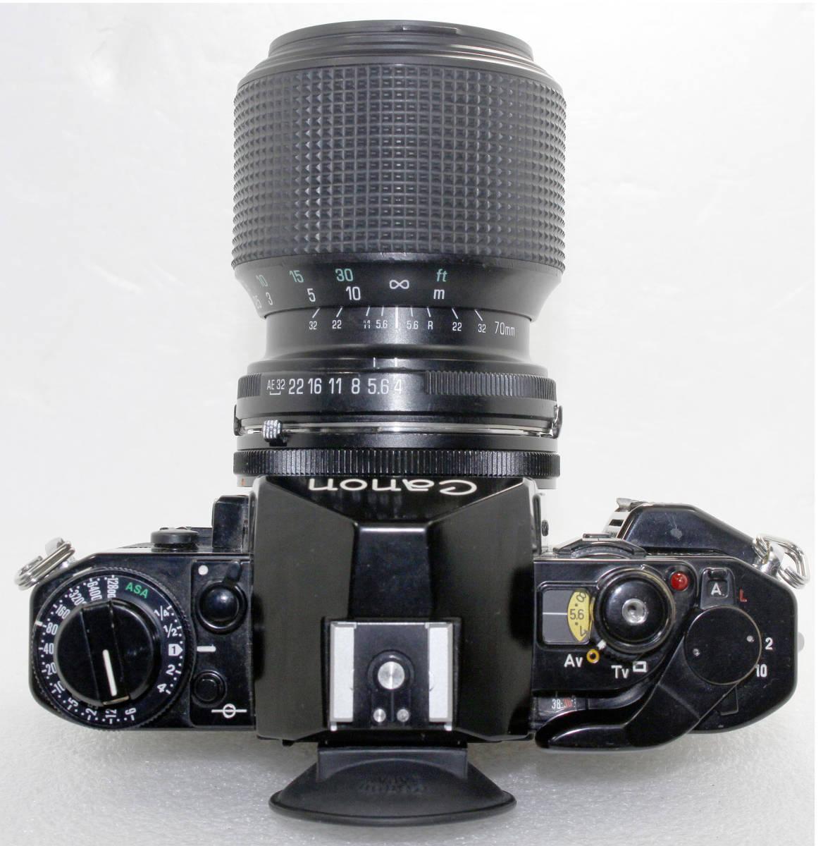 キャノンCanon A-1/TAMRON 70-210mm4-5.6 付 _画像4