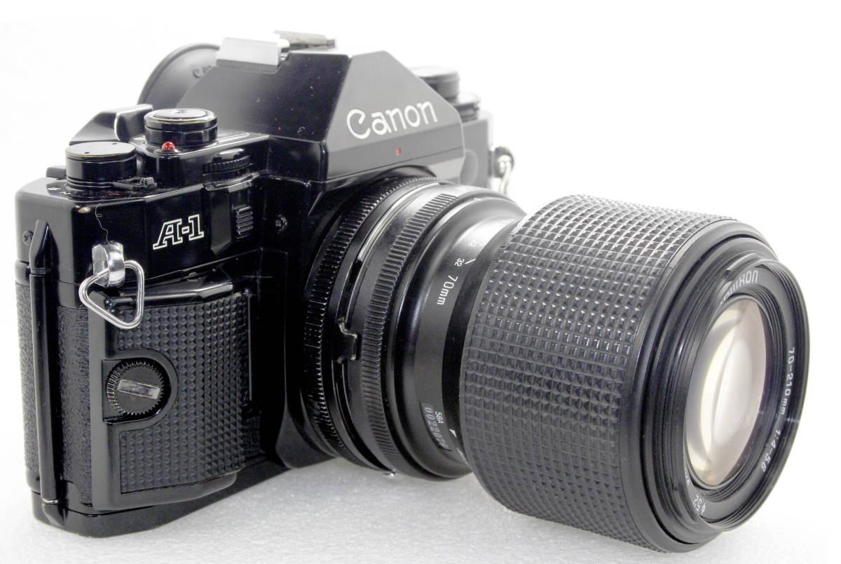 キャノンCanon A-1/TAMRON 70-210mm4-5.6 付 _画像2