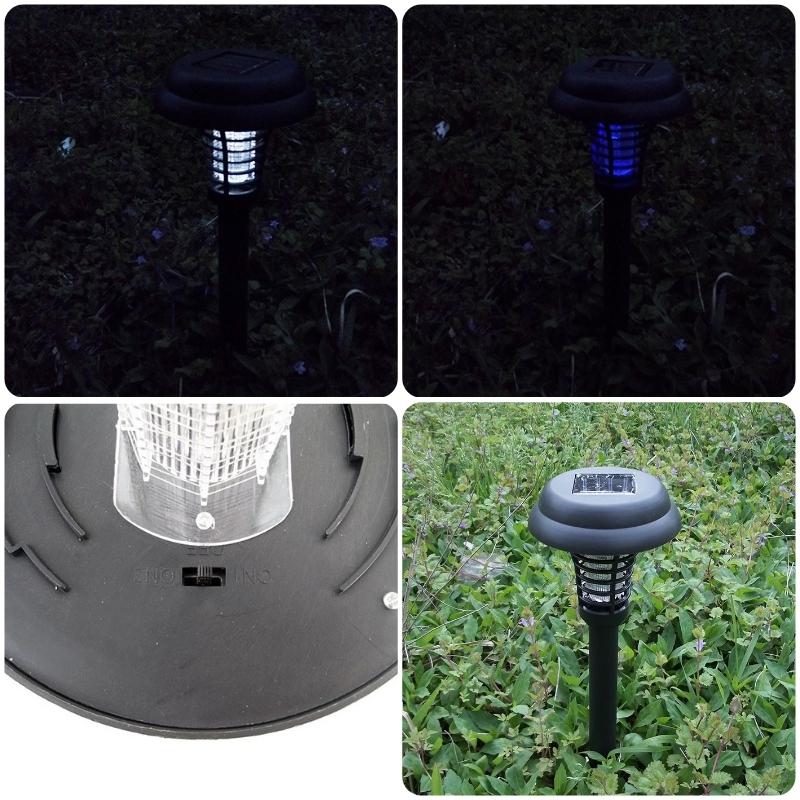 ソーラー式 UV光源吸引式殺虫器&ガーデンライト _画像2
