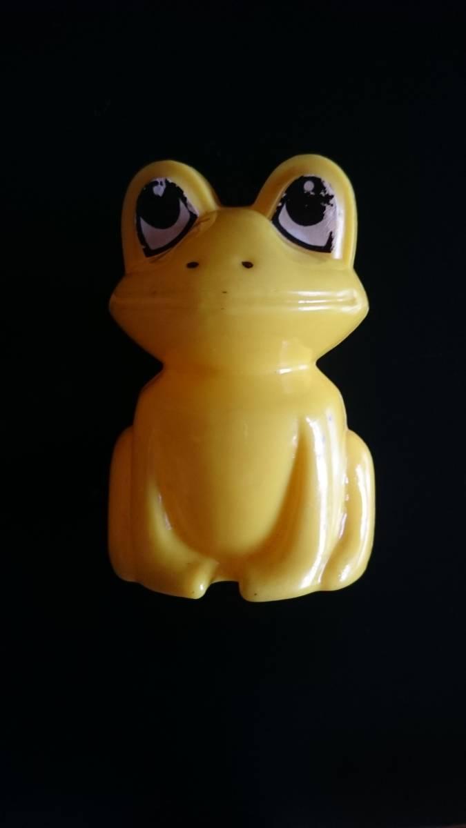 ヴィンテージ・アンティーク 幸福の黄色い蛙 貯金箱 昭和レトロ 雑貨_画像1