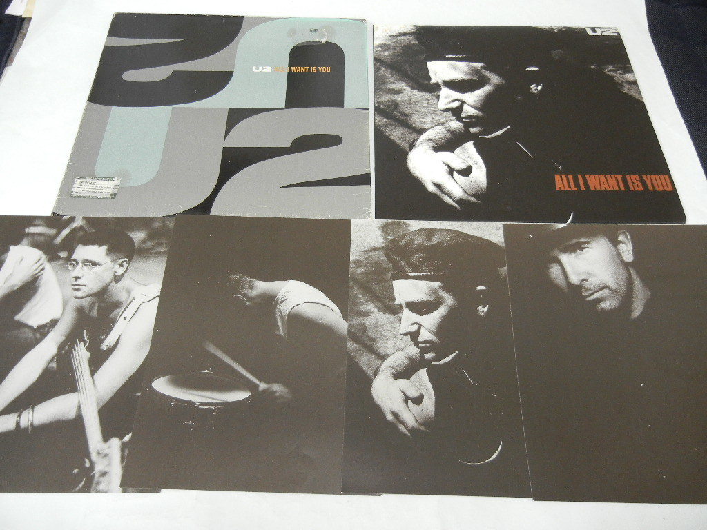 U2 / All I Want Is You( the first times limitation folder