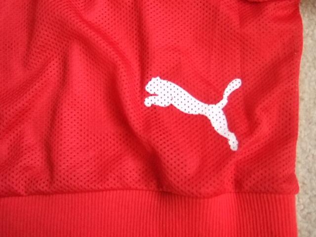 ★16 新品 タグ付き PUMA 長袖 Tシャツ L 赤★トレーナー プーマ スポーティ系 スポーツ スケーター_画像2