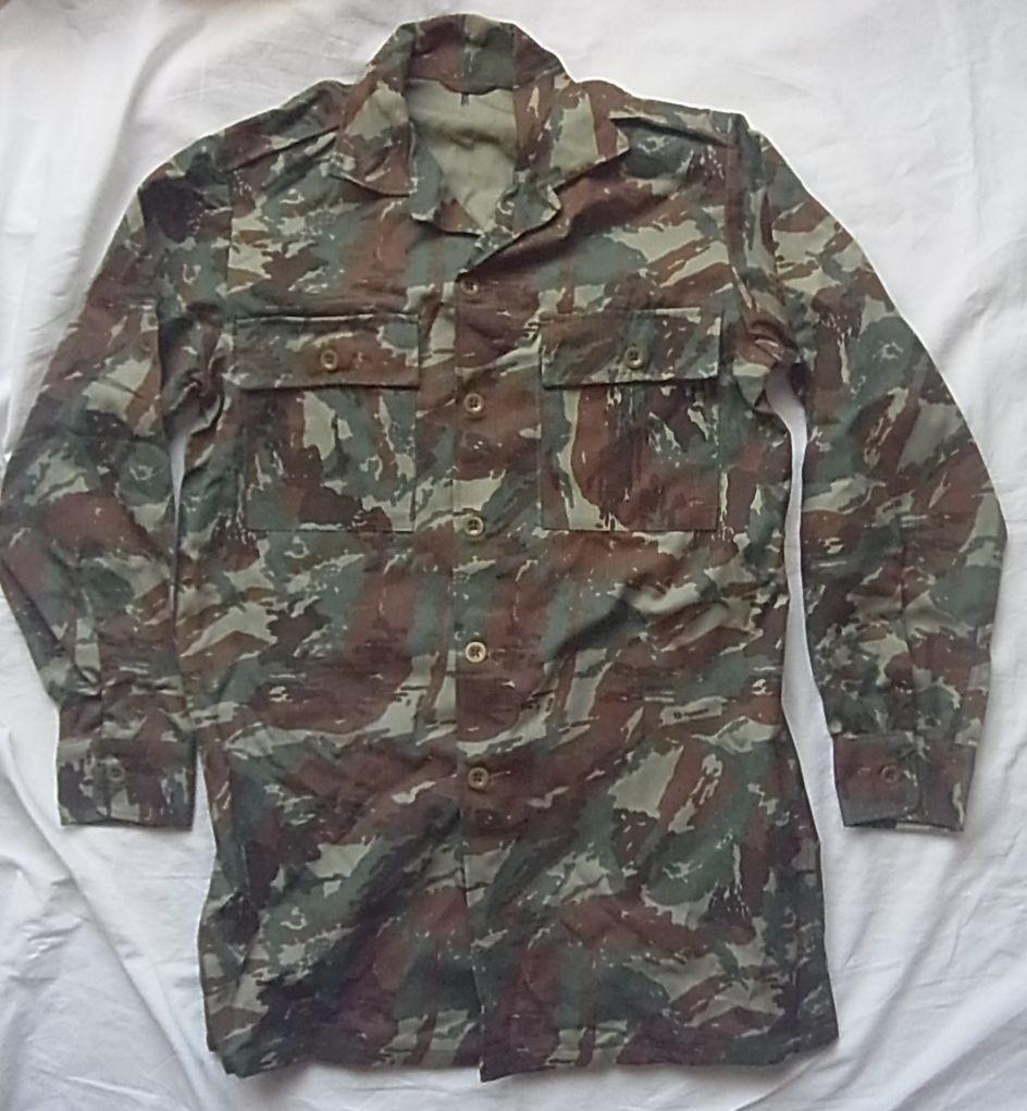 珍品 南アフリカ軍 特殊部隊 32大隊迷彩シャツ ローデシア SAS RLI セルーススカウト PMC エグゼクティブアウトカムズ イラク アフガン_画像1