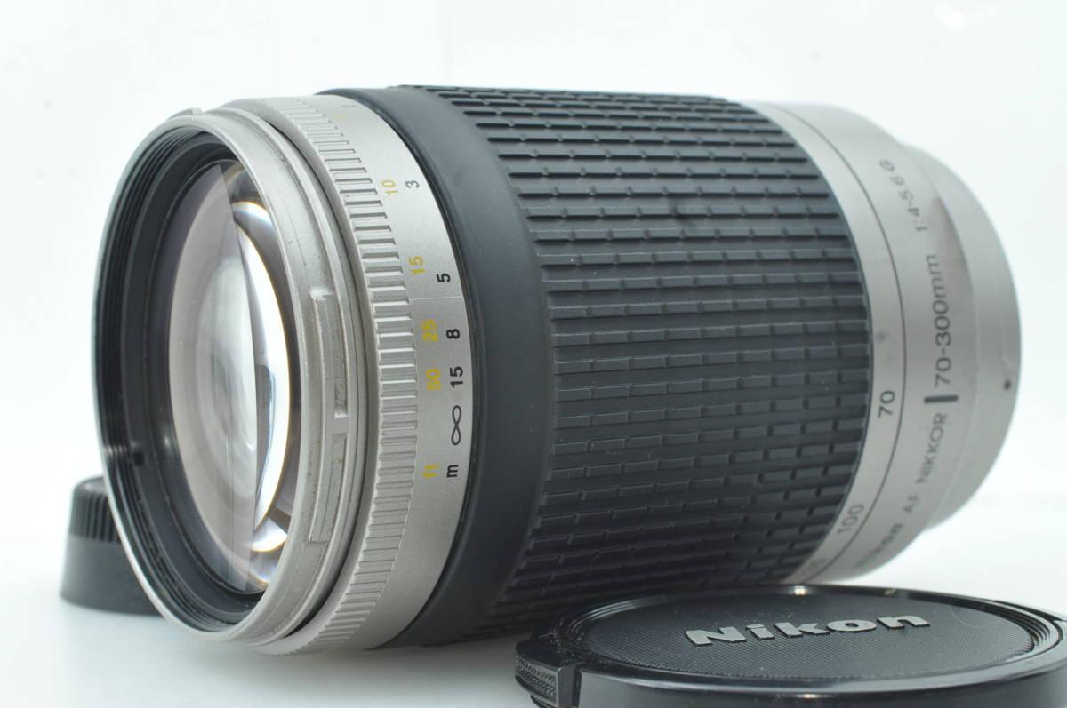 ★外観新品級★ニコン NIKON AF NIKKOR 70-300mm f4-5.6 G ★完動★#4662
