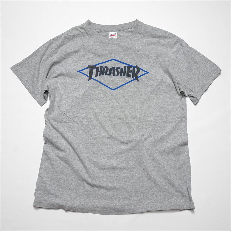 90's アメリカ製 THRASHER Tシャツ XL anvil ひし形 スラッシャー MADE IN USA ビンテージ ヴィンテージ OLD SKATE オールドスケート_画像1