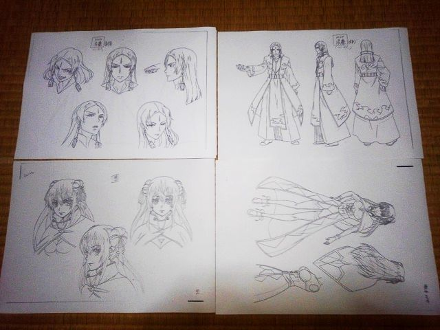 設定資料 中国アニメ 霊域 アニメ セル画 資料系_画像3