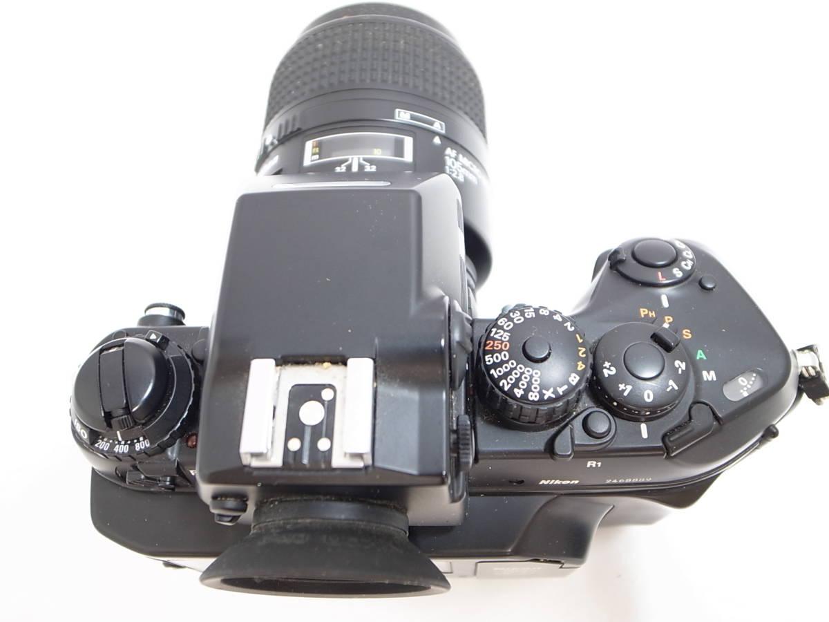 ニコン/Nikon F4 AF MICRO NIKKOR 105mm 1:2.8 レンズ+マルチコントロールバック  セット d_画像3